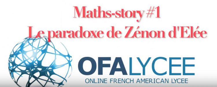 Maths Story 1 Le paradoxe de Zenon